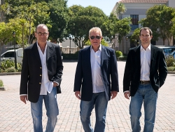 From left to right are Derek Blumberg, Ruven Kaplan, Hendré Schoeman